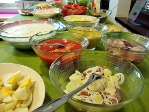 Ajantiedon ruokareseptit uudessa blogissa