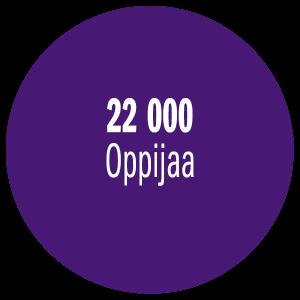 22000 oppijaa