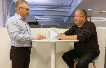 Juha Koskinen ja Martti From