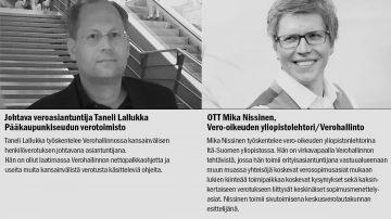 Kiinteä toimipaikka verotuksessa - asiantuntijat Taneli Lallukka ja Mika Nissinen